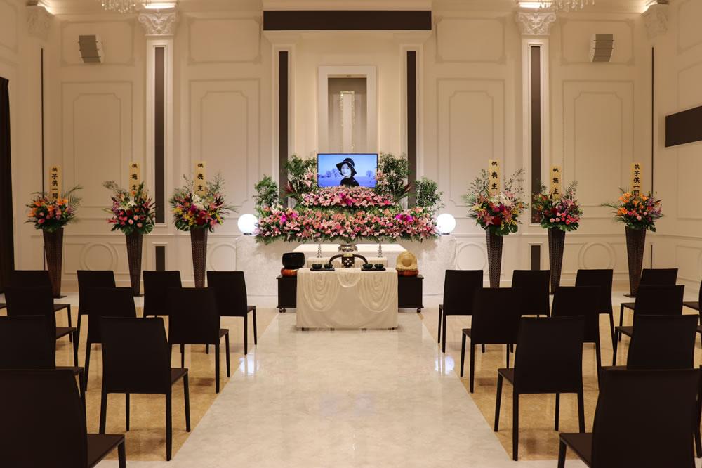 オリジナル花祭壇付おもてなしプラン2