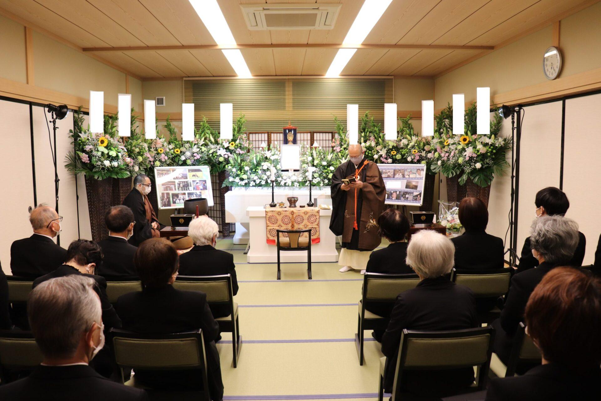 お寺で家族葬(稱念寺)